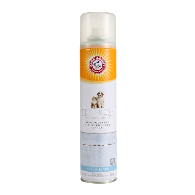 Arm & Hammer Pet Fresh Deodorizing Air Fresh Clean Linen Scent for Dogs and Cats, 5.3 fl. oz. - Carousel image #1
