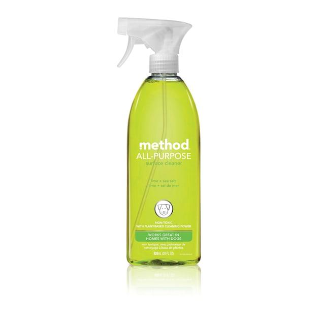 METHOD Lime + Sea Salt All-Purpose Surface Cleaner, 28 fl. oz. - Carousel image #1