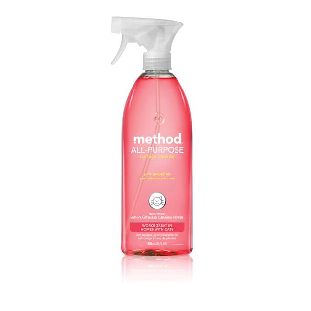 METHOD Pink Grapefruit All-Purpose Surface Cleaner, 28 fl. oz. - Carousel image #1