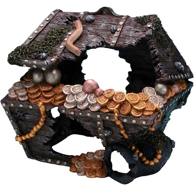 "Penn Plax Treasure Chest, 10"" L X 8.5"" W - Carousel image #1"