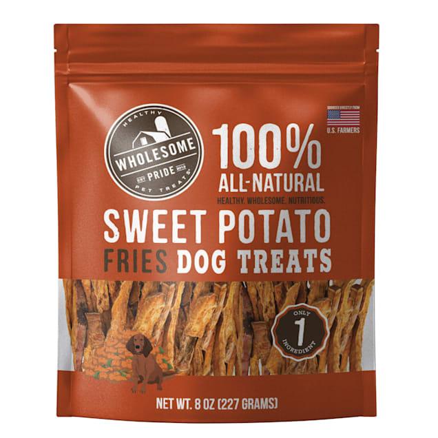 Wholesome Pride Sweet Potato Fries Dog Treats, 8 oz. - Carousel image #1