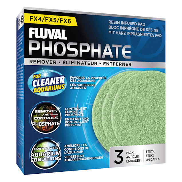 Fluval FX4/FX5/FX6 Phosphate Remover Pad, Pack of 3 - Carousel image #1