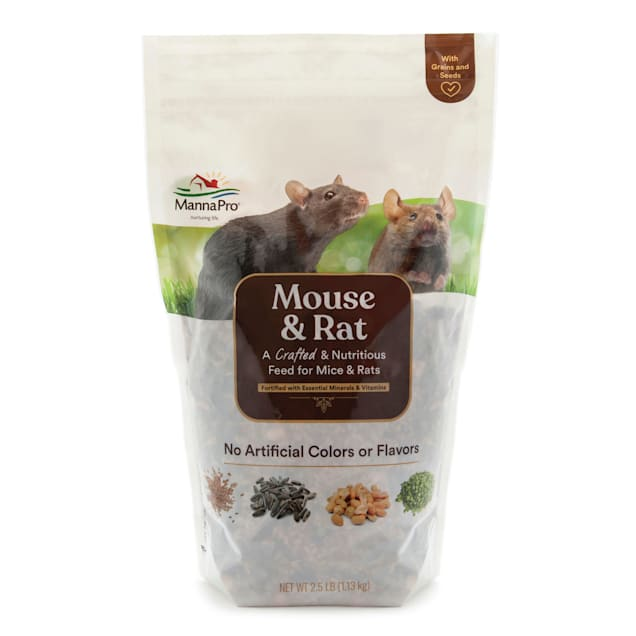 Manna Pro Rat & Mouse Dry Food, 2.5 lbs. - Carousel image #1