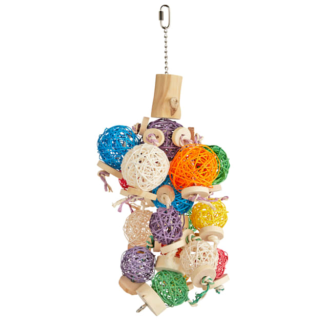You & Me Cluster Vine Balls Chewing Bird Toy, Large - Carousel image #1
