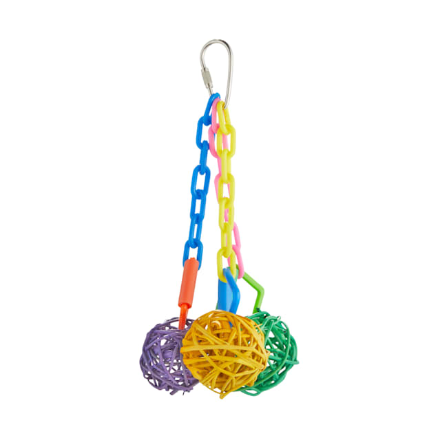 You & Me Ball Cluster Chewing Bird Toy, Small - Carousel image #1