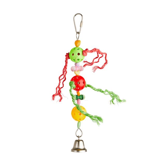 You & Me Tres Huevos Noisemaking Bird Toy, Small - Carousel image #1