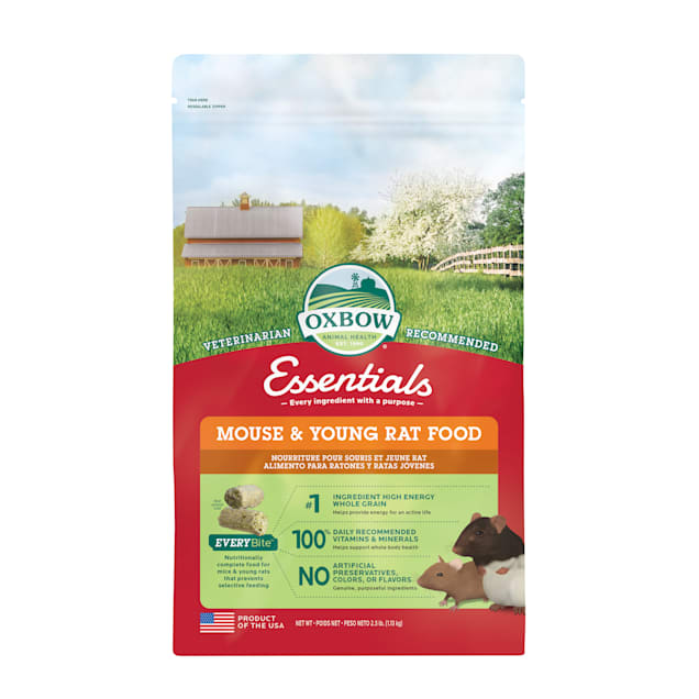 Oxbow Essentials Mouse & Young Rat Food, 2.5 lbs. - Carousel image #1