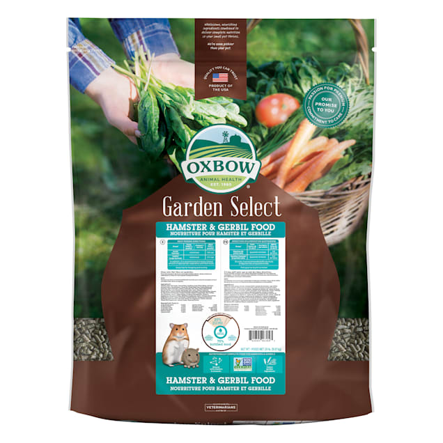 Oxbow Garden Select Hamster & Gerbil Food, 20 lbs. - Carousel image #1