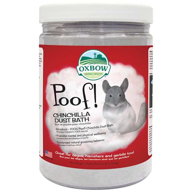 Oxbow Poof! Blue Cloud Chinchilla Dust, 2.5 lbs. - Carousel image #1
