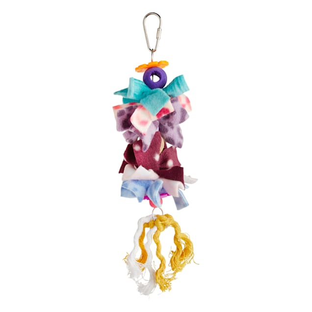 You & Me Bow Dangles Preening Bird Toy, Small - Carousel image #1