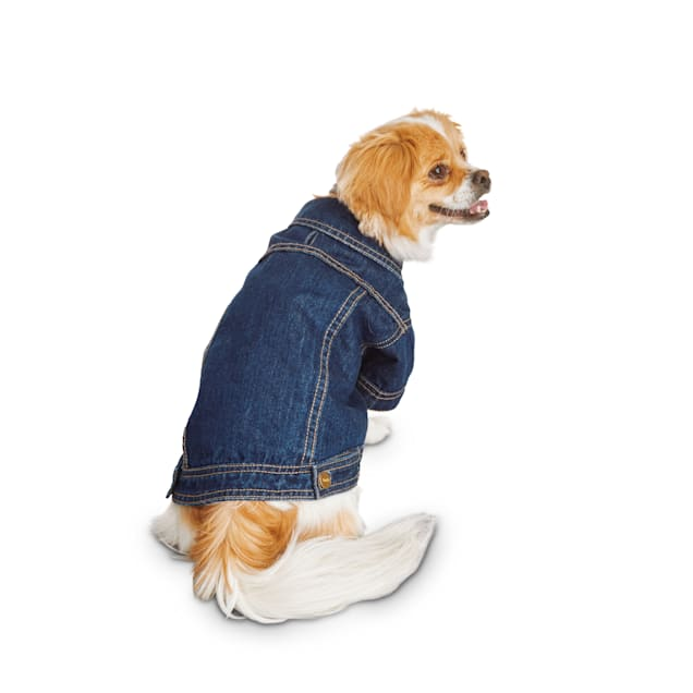 Reddy Denim Trucker Jacket for Dogs, X-Small - Carousel image #1