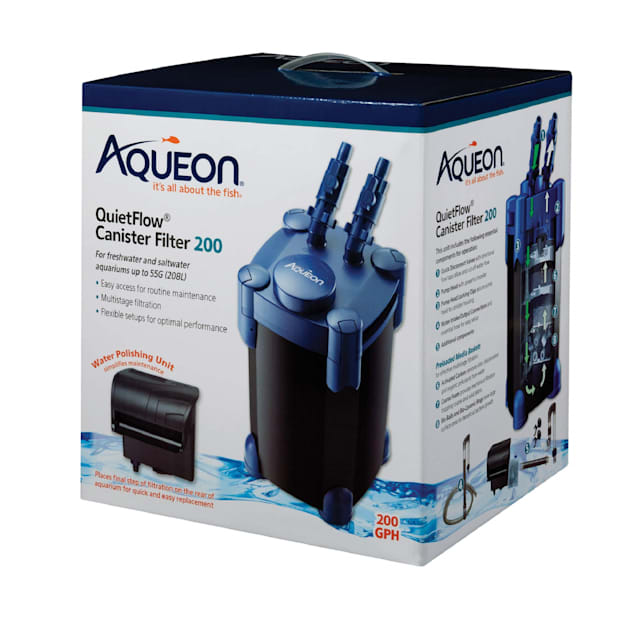 Aqueon Quietflow Canister Filter, 200 gph. - Carousel image #1