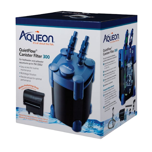 Aqueon Quietflow Canister Filter, 300 gph. - Carousel image #1