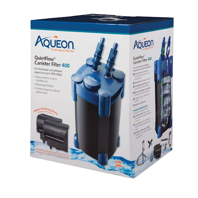 Aqueon Quietflow Canister Filter, 400 gph. - Carousel image #1