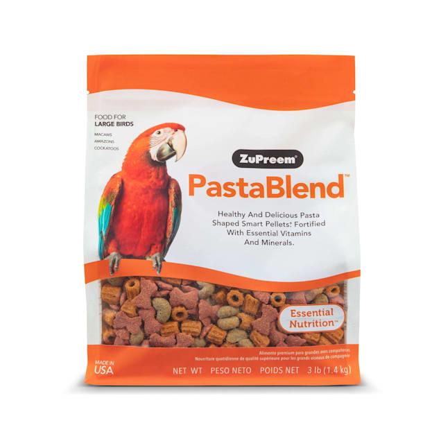 ZuPreem PastaBlend for Large Birds, 3 lbs. - Carousel image #1