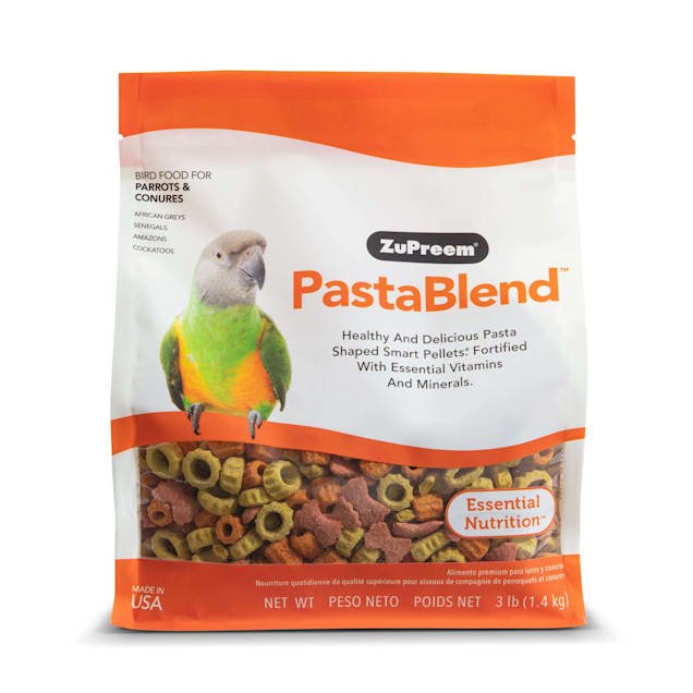 ZuPreem PastaBlend for Parrot and Conures, 3 lbs. - Carousel image #1
