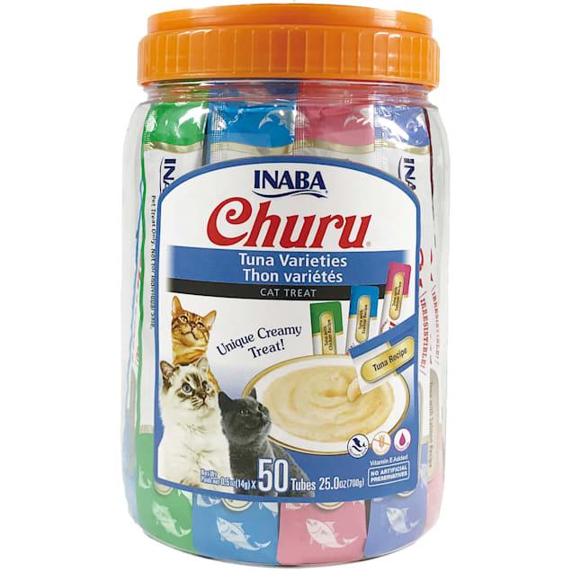 Inaba Churu Tuna Variety Pact Cat Treats, 25 oz., Count of 50 - Carousel image #1