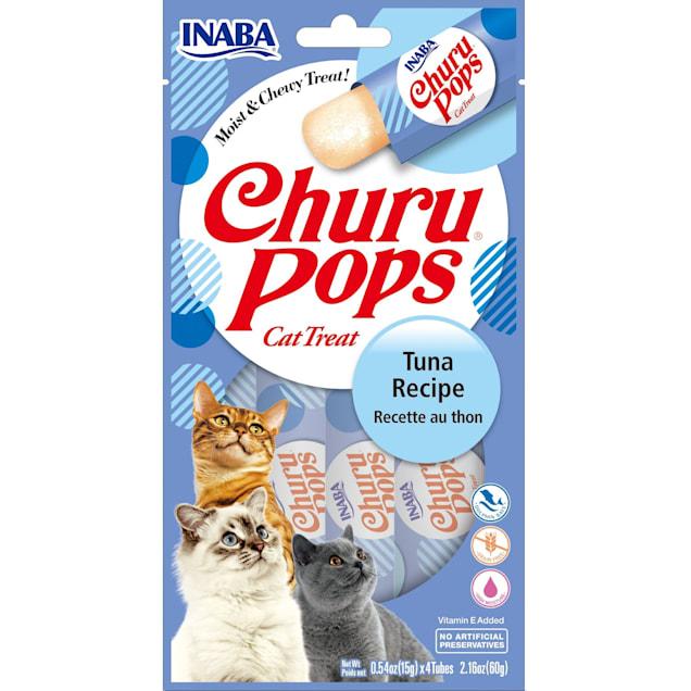 Inaba Churu Pops Tuna Receipe Cat Treats, 2.16 oz., Count of 24 - Carousel image #1