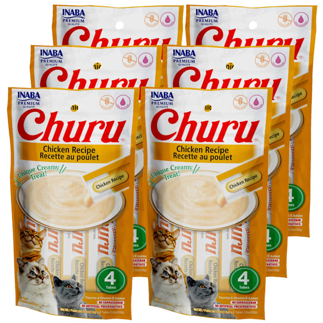 Inaba Churu Chicken Recipe Cat Treats, 2 oz., Count of 24 - Carousel image #1