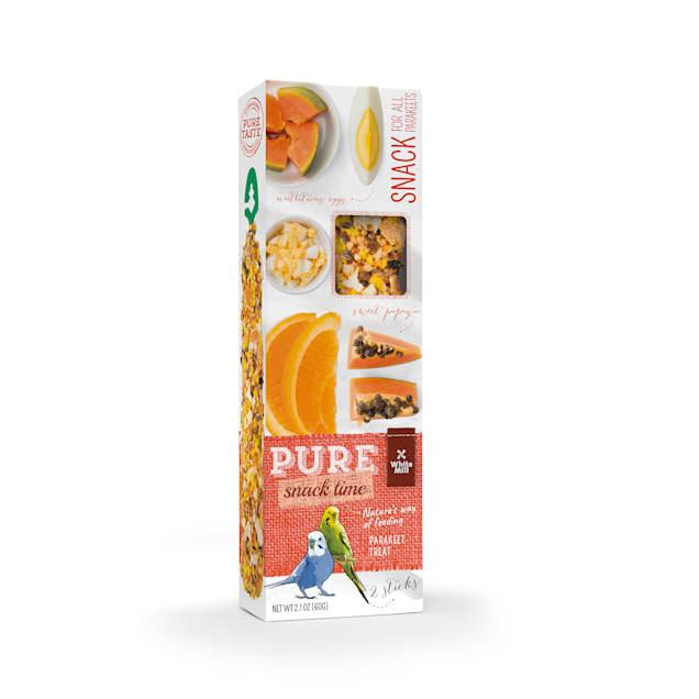 White Mill Gourmet Seed Sticks Papaya & Orange Flavor for Parakeet, 0.13 lbs. - Carousel image #1