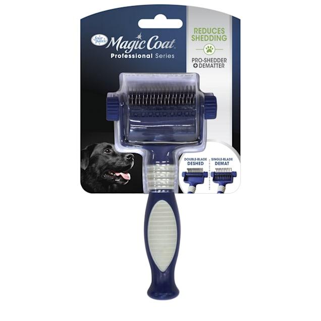Magic Coat 2-in-1 Quick Shed Pet Grooming Tool - Carousel image #1