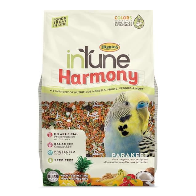 Higgins inTune Harmony Fruit Extruded Parakeet Bird Food, 2 lbs. - Carousel image #1