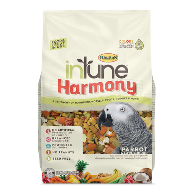 Higgins inTune Harmony Fruit Extruded Parrot Bird Food, 3 lbs. - Carousel image #1
