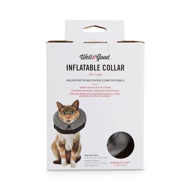 Well & Good Inflatable Recovery Cat Collar - Carousel image #1