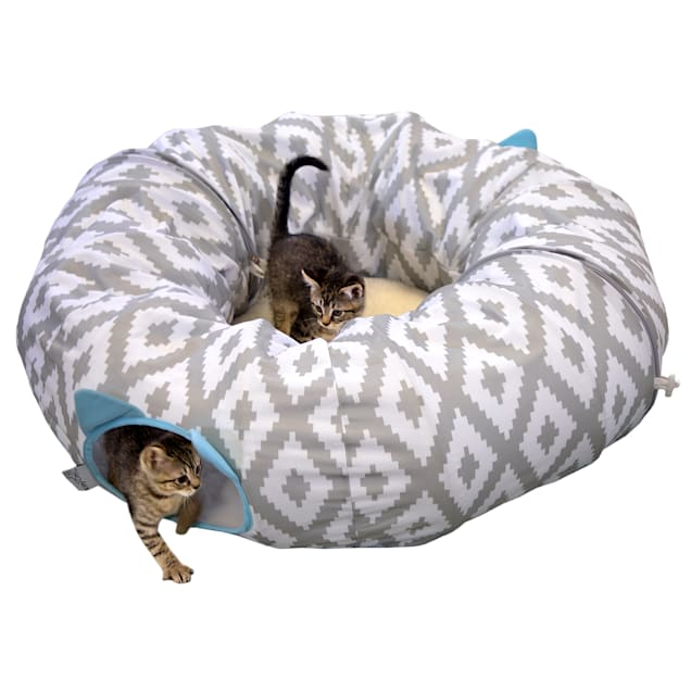 """Kitty City Tunnel Cat Bed, 39"""" L X 39"""" W - Carousel image #1"""