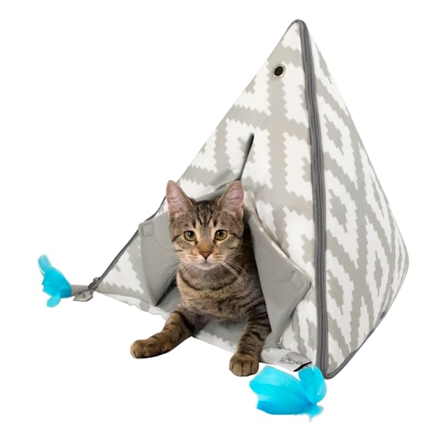 """Kitty City Teepee Cat Bed, 21"""" L X 21"""" W - Carousel image #1"""