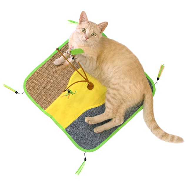 Kitty City Wobble Play Mat for Cats, Large - Carousel image #1