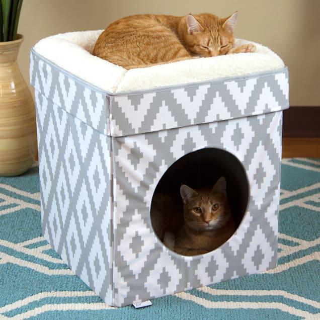 "Kitty City Folding Cat Bed, 16.4"" L X 16.4"" W, 19.25"" H - Carousel image #1"