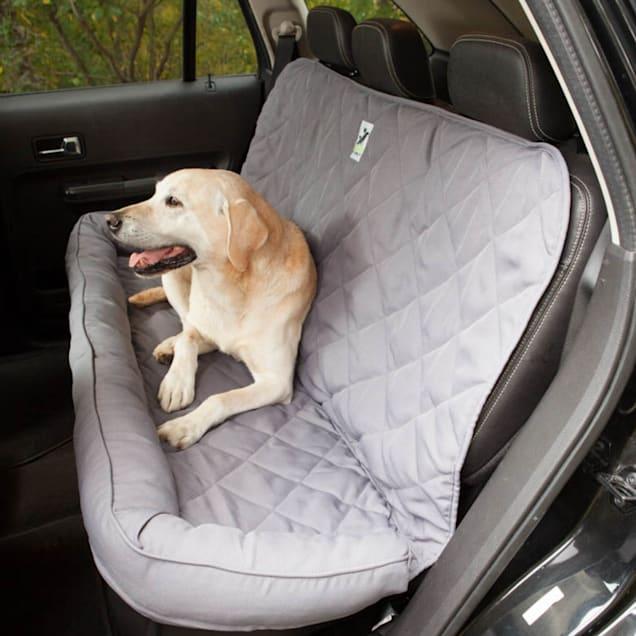 "3 Dog No Slip Bolster Grey Seat Protector, 54"" L X 26"" W X 0.5"" H - Carousel image #1"
