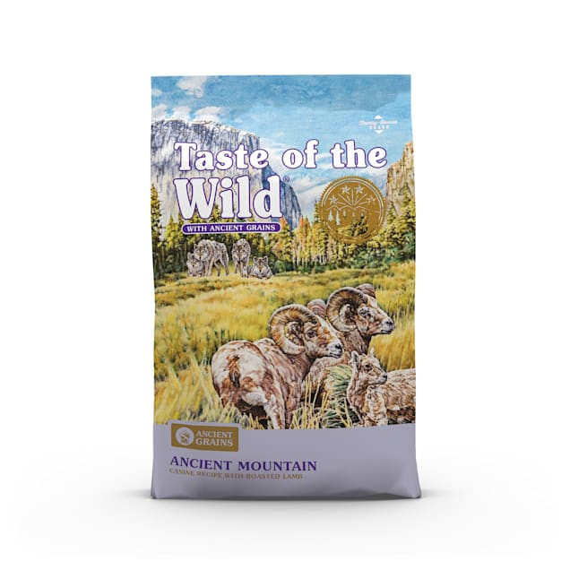 Taste of the Wild Ancient Mountain with Roasted Lamb and Ancient Grains Dry Dog Food, 28 lbs. - Carousel image #1