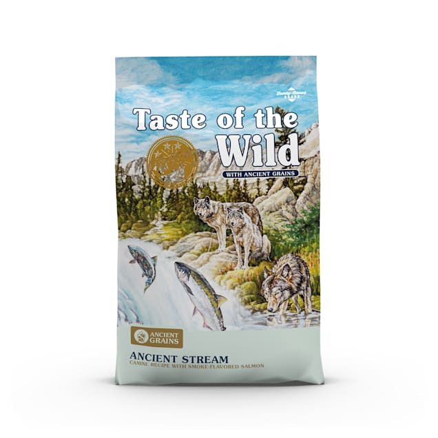 Taste of the Wild Ancient Stream with Smoked Salmon and Ancient Grains Dry Dog Food, 28 lbs. - Carousel image #1