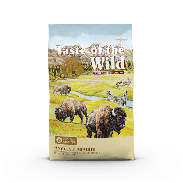 Taste of the Wild Ancient Prairie with Roasted Bison, Roasted Venison and Ancient Grains Dry Dog Food, 28 lbs. - Carousel image #1