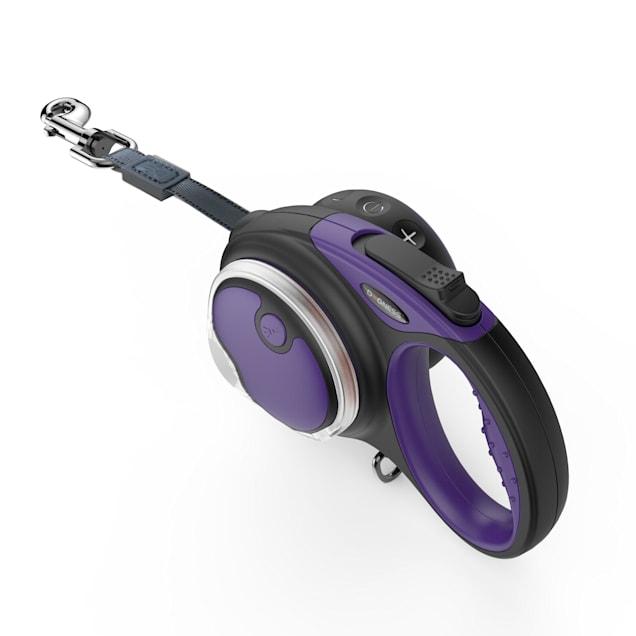 Dogness Smart Retractable Purple Leash Boxed Set, 13' L - Carousel image #1