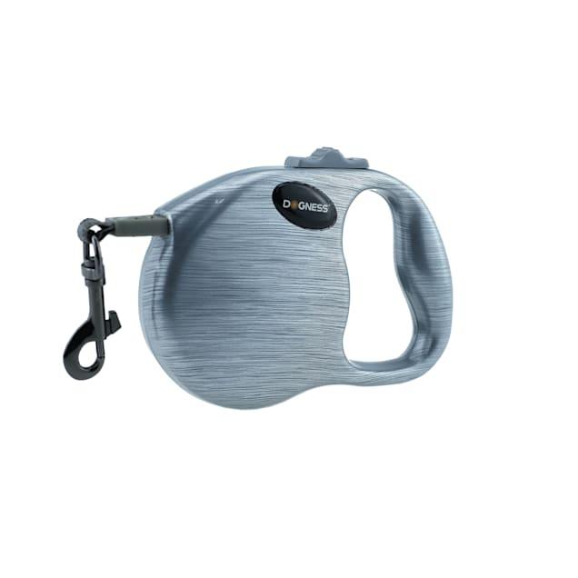 Dogness Fashion Retractable Grey Leash, 10' L - Carousel image #1