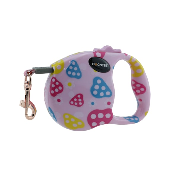 Dogness Fashion Retractable Strawberry Leash, 10' L - Carousel image #1