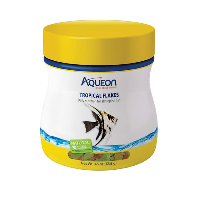Aqueon Tropical Flakes Fish Food, 0.45 oz. - Carousel image #1