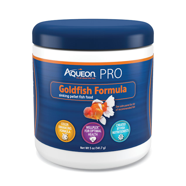 Aqueon Pro Goldfish Formula Fish Food Pellet, 5 oz. - Carousel image #1