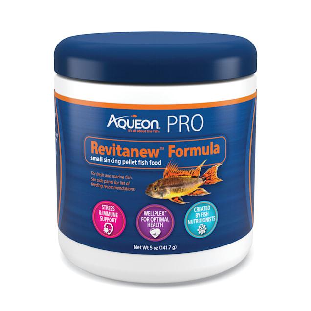 Aqueon Pro Revitanew Fish Food Medium Pellet, 5 oz. - Carousel image #1
