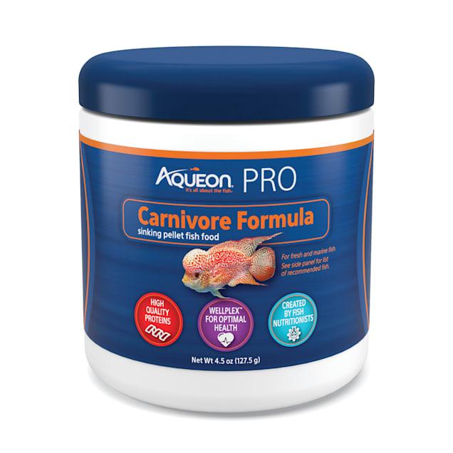 Aqueon Pro Carnivore Formula Fish Food Pellets, 4.5 oz. - Carousel image #1