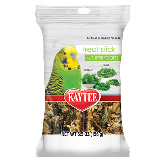 Kaytee Spinach and Kale Avian Treat Stick with Superfood, 5.5 oz. - Carousel image #1
