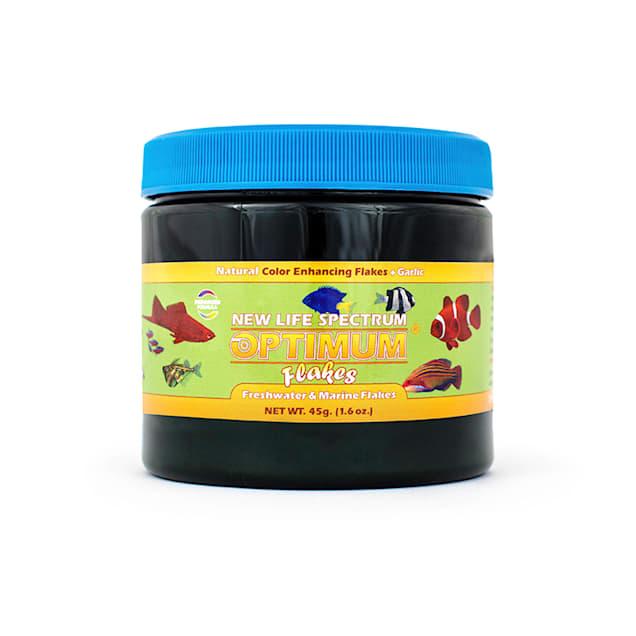 New Life Spectrum Optimum Flakes Tropical Fish Food Diet, 45 Grams - Carousel image #1