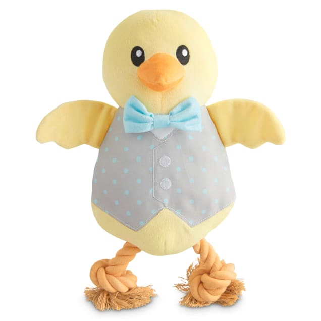 Bond & Co. Easter Chick Me Out Plush Dog Toy, Large - Carousel image #1