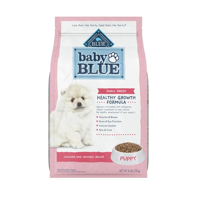 Blue Buffalo Baby Blue Natural Small Breed Chicken and Brown Rice Recipe Dry Puppy Food, 4 lbs. - Carousel image #1