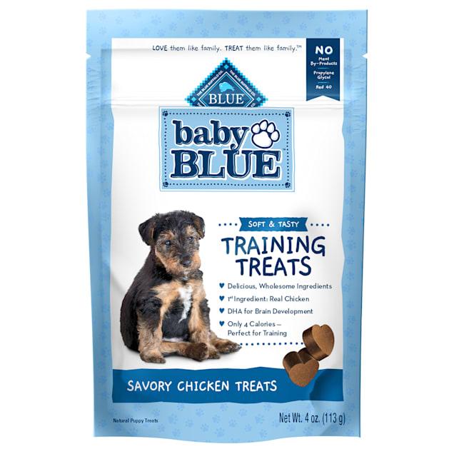 Blue Buffalo Baby Blue Natural Soft Training Savory Chicken Puppy Treats, 4 oz. - Carousel image #1