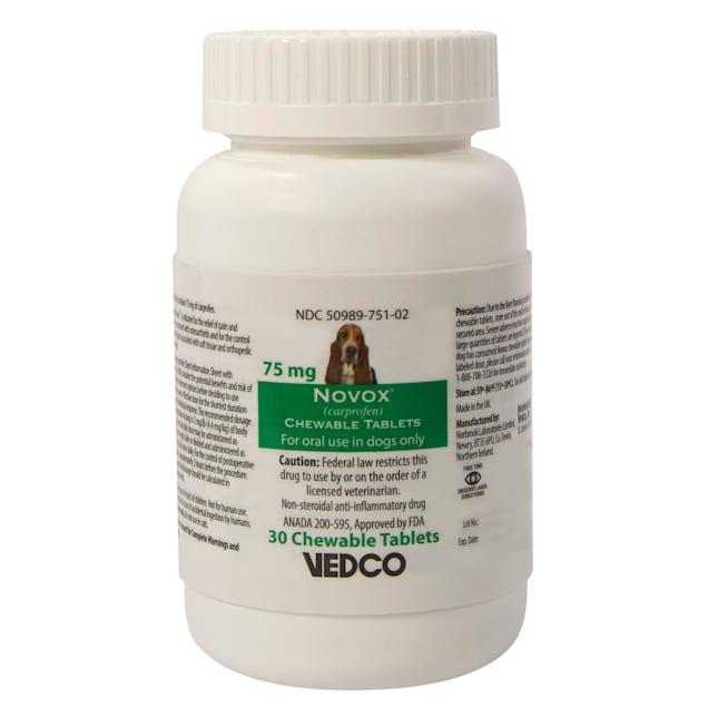 Novox 75mg Chew, 30 Chewable Tablets - Carousel image #1