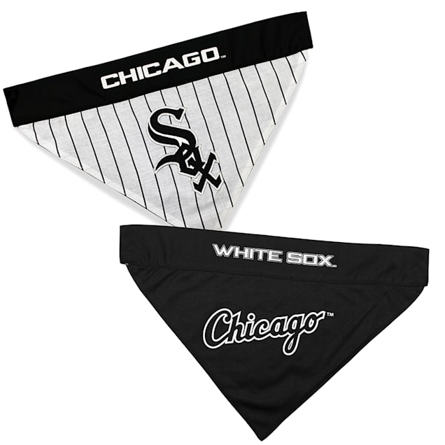 Pets First Chicago White Sox Reversible Bandana for Dogs, Small/Medium - Carousel image #1